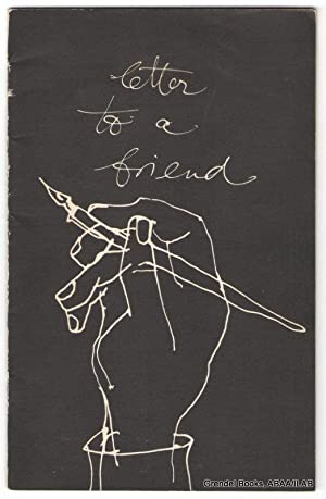 Letter to a Friend.: Eric Carle) SAINT-EXUPERY,