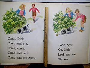 Our Big Book, Dick and Jane, We Look and See, Poster Size Illustrations Teacher's Easel Size
