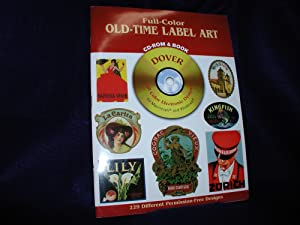 Full-Color Old-Time Label Art: CD-ROM and Book