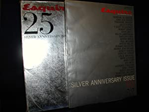 Esquire Silver Anniversary Issue, October 1958