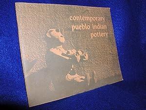 Contemporary Pueblo Indian Pottery: Harlowe, Francis H.;
