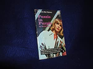 Puzzle in Purple, A Connie Blair Mystery: Allen