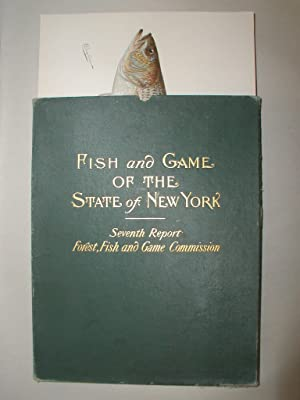 Fish and Game of the State of New York Seventh Report, 100 Color Plates