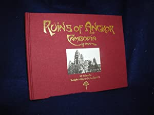 Ruins of Angkor Cambodia in 1909