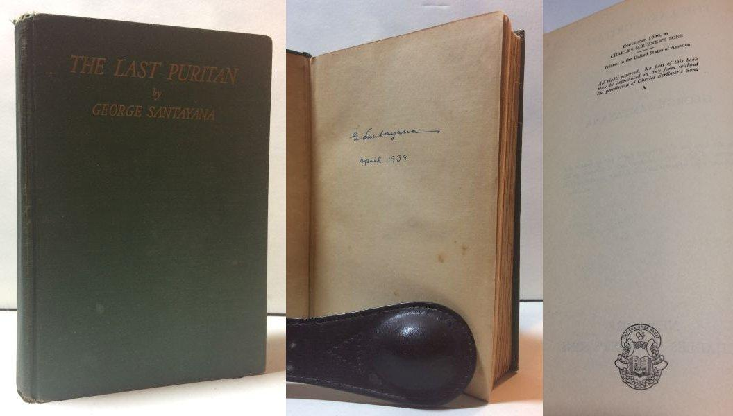 The_Last_Puritan_Santayana_George_Very_Good_Hardcover