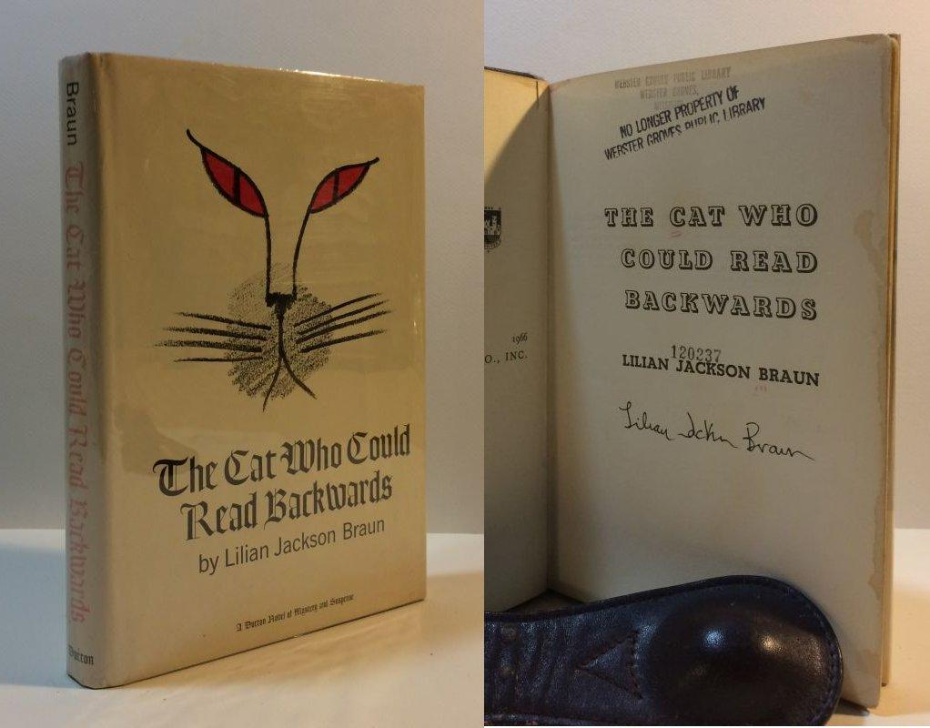 The_Cat_Who_Could_Read_Backwards_Braun,_Lilian_Jackson_[Very_Good]_[Hardcover]