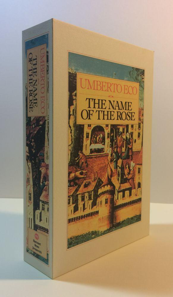 THE_NAME_OF_THE_ROSE_Custom_Display_Case_Eco,_Umberto_[New]_[Hardcover]