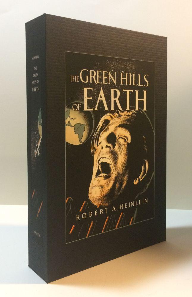 THE_GREEN_HILLS_OF_EARTH_Custom_Display_Case_Heinlein,_Robert_[New]_[Hardcover]