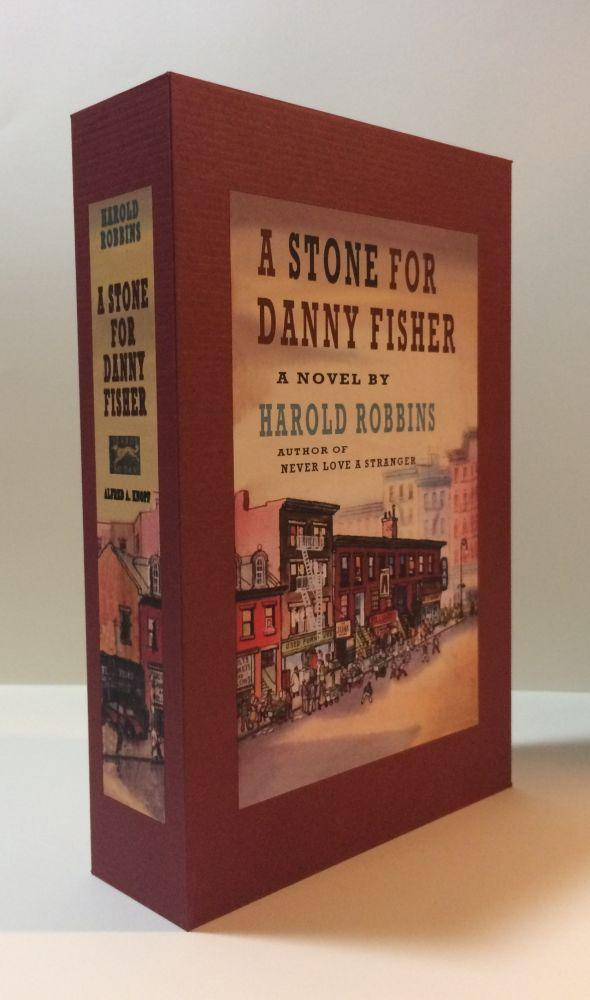 A_STONE_FOR_DANNY_FISHER_Custom_Display_Case_Robbins,_Harold_[New]_[Hardcover]