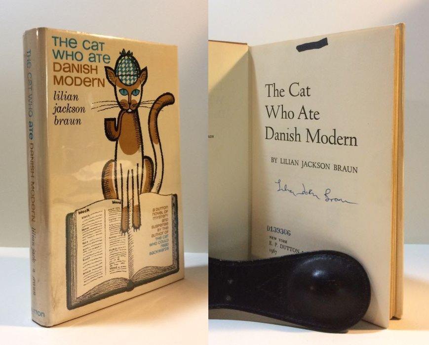 The_Cat_Who_Ate_Danish_Modern_Braun_Lilian_Jackson_Very_Good_Hardcover