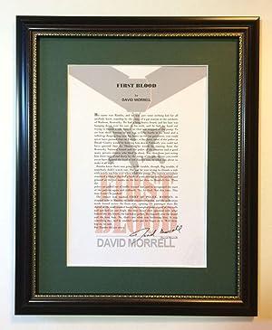 First Blood (Rambo): Morrell, David