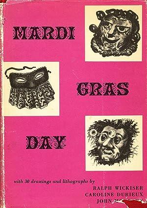 Mardi Gras Day: Caroline Durieux, John