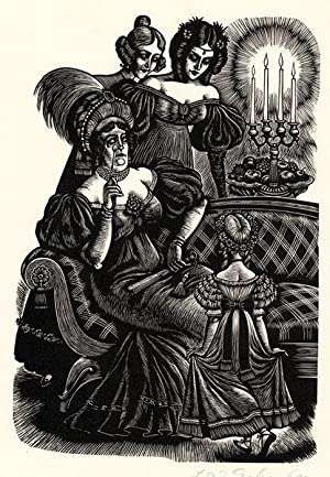 ADELE AND THE LADIES (JANE EYRE): FRITZ EICHENBERG