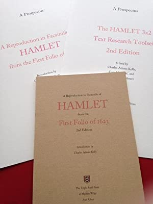 A Reproduction in Facsimile of HAMLET from: Charles Adams Kelly