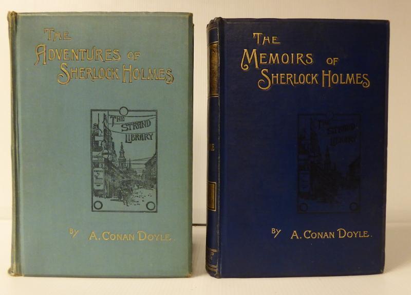 The Adventures of Sherlock Holmes. + The Memoirs of Sherlock Holmes. DOYLE, A. CONAN: Hardcover