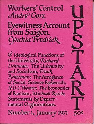 Upstart. Number 1.: University Radical Union.