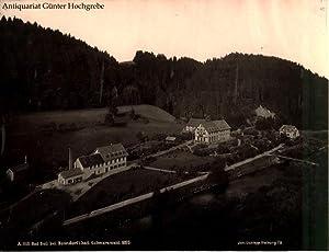 Bad Boll bei Bonndorf im badischen Schwarzwald. Bildnummer A. 1112.: Mertens, E(duard) & Co.: