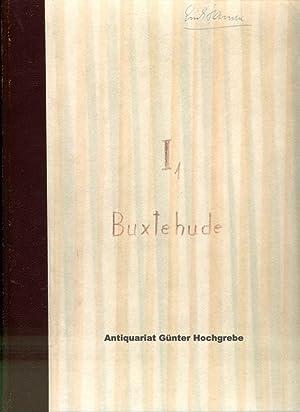Ditrich Buxtehude Orgelwerke. Freie Kompositionen Erste Abteilung.: Spitta, Philipp - Herausgeber: