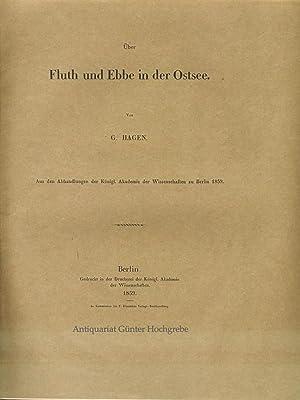 Über Fluth und Ebbe in der Ostsee.: Hagen, [Gotthilf]: