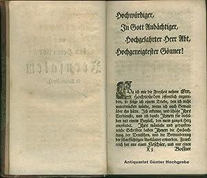 Friedrich Eberhard Boysens Predigers an der Hauptkirche St. Johannis Evangelistae in Magdeburg ...