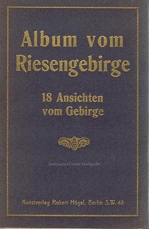 Album vom Riesengebirge. 18 Ansichten vom Gebirge