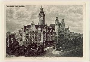 Leipzig. Neues Rathaus.