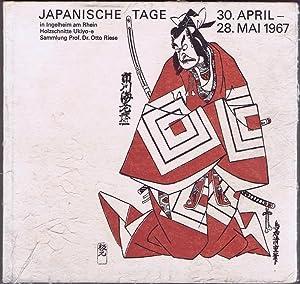 Autograph Otto Riese / Holzschnitte Ukiyo-e. Sammlung: Riese, Otto: