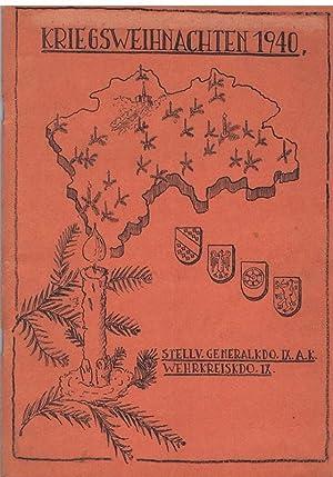 Weihnachtszeitung / Kriegsweihnachten 1940. Festzeitung des Stellvertretenden Generalkommandos...