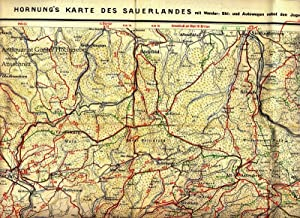 Winterberg. Hornungs Sauerland-Karte, Blatt 7.