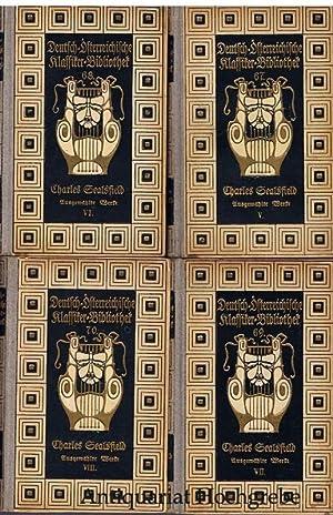 Der Virey und die Aristokraten oder Mexiko im Jahre 1812. Roman. 4 Bände, komplett.: ...