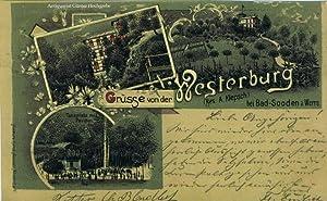 Grüsse von der Westerburg (Bes. A. Klepsch) bei Bad Sooden a. Werra.: Fischer's Kunst-Anstalt,...