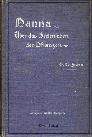 Nanna oder Über das Seelenleben der Pflanzen.: Fechner, Gustav Theodor: