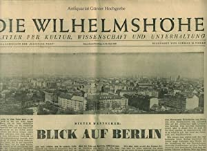 Kasseler Post Kasseler Allgemeine Zeitung. Hessische Post: Batz, Wilhelm und