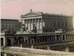 Berlin Nationalgalerie auf der Museumsinsel.: F. Albert (Schwartz ?):