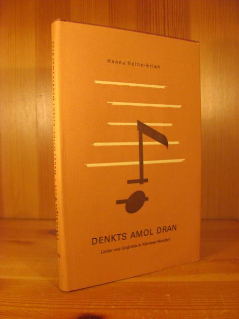 Denkts Amol Dran Lieder Und Gedichte In