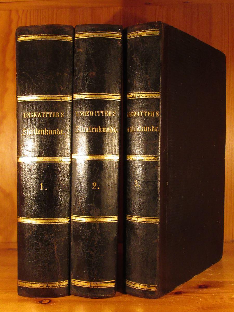 Erdbeschreibung und Staatenkunde oder geographisch-statistisch-historisches Handbuch. Mit: Ungewitter, F. H.