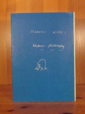 Johannes Geuer's Western philosophy (numeriertes Exemplar in: Geuer, Johannes