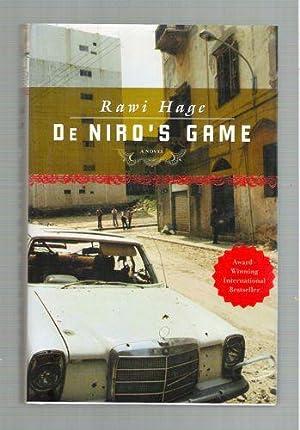 De Niro's Game: Rawi Hage