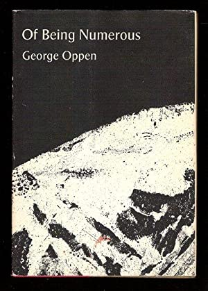 Of Being Numerous: Oppen, George