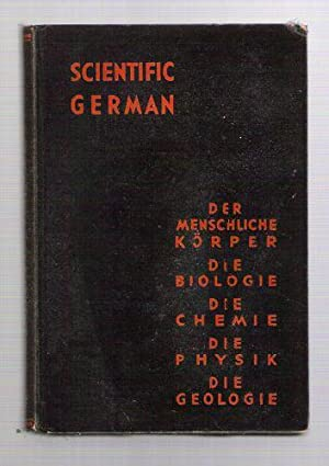 Scientific German for Science and Premedical Students: Vail, Curits C.D.