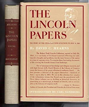 The Lincoln Papers/Two Volumes in Slipcase: Mearns, David C.