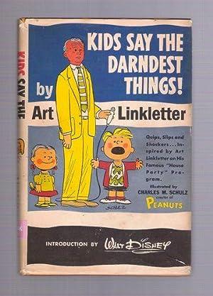 Kids Say the Darndest Things!: Linkletter, Art