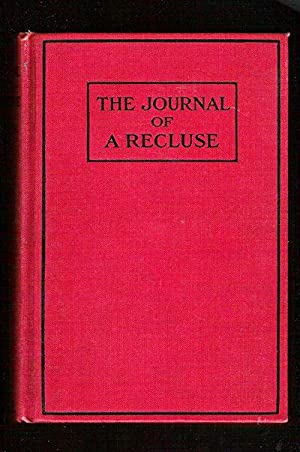 The Journal of a Recluse: Fisher, Mary