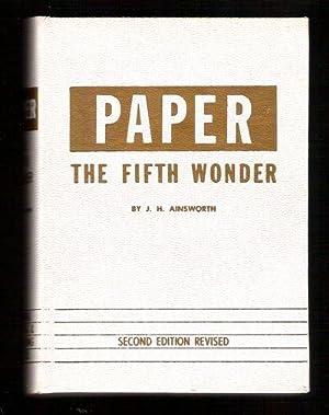 Paper The Fifth Wonder: Ainsworth, John H.