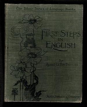 First Steps in English: Bartlett, Albert LeRoy
