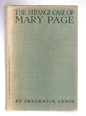 The Strange Case of Mary Page: Lewis, Frederick