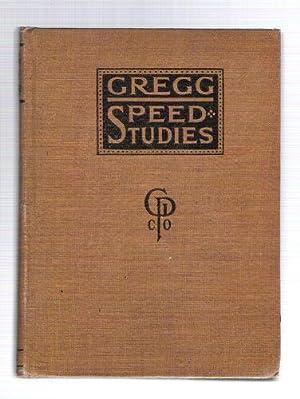 Gregg Speed Studies: Gregg, John Robert