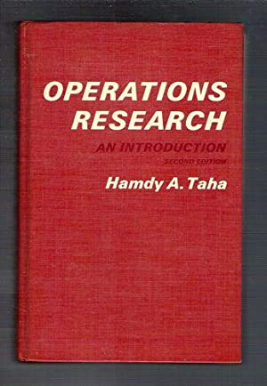 Operations Research: An Introduction: Taha, Hamdy Abdelaziz