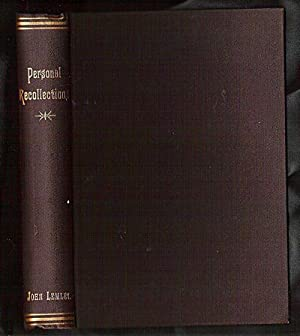 Personal Recollections of John Lemely, Editor of: Lemley, John