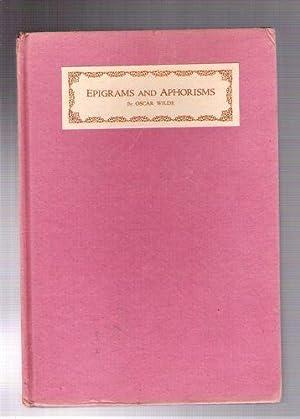 Epigrams and Aphorisms: Wilde, Oscar